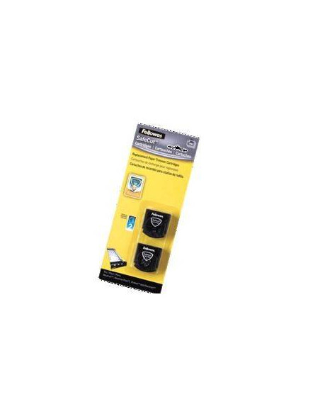 PACK 2 CUCHILLAS DE CORTE RECTOS FELLOWES