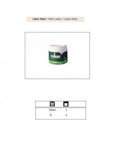 REKAR LATEX PLASTICO CONCENTRADO MATE 250 ML