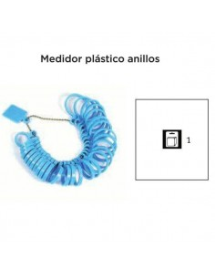 MEDIDOR PLASTICO DE ANILLOS