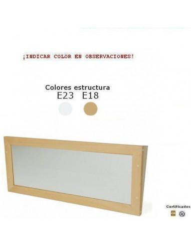 ESPEJO INCLINADO DE SEGURIDAD PARA GUARDERIAS 100 X 40 X 10CM