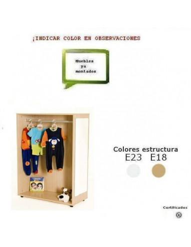MUEBLE DE DISFRACES PARA COLEGIOS CERRADO DE 90 X 132 X 40 CM