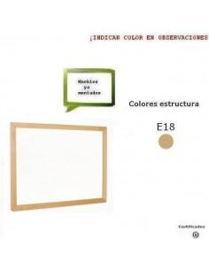 ESPEJO DE IDENTIDAD PARA COLEGIOS 120X90X2.5 CM ACABADO EN HAYA