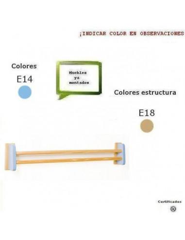 BARRAS PARA ESPEJO DE IDENTIDAD PARA COLEGIOS 141 X 25 X 14 CM