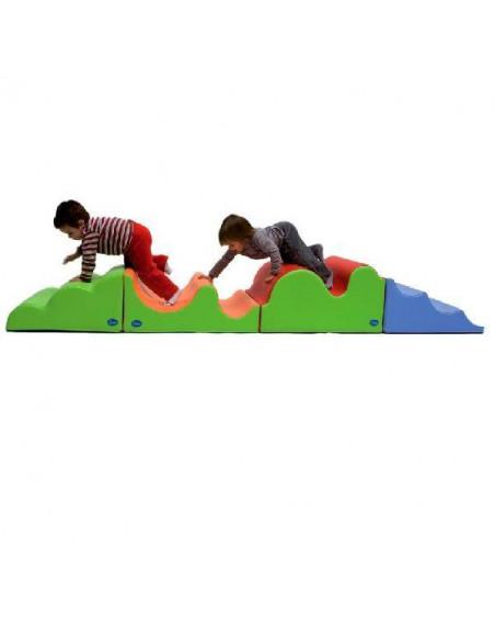 ACTIVIDADES INFANTILES PARA NIÑOS ACOLCHADAS 276 X 60 X 37 CM