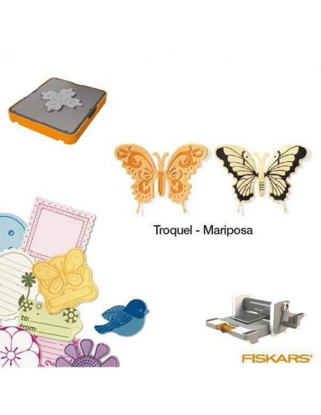 TROQUELES DE FORMAS COMPLICADAS PARA MAQUINA FISKARS FUSE CREATIVITY SYSTEM TAMAÑO MEDIANO