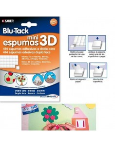 ESPUMAS ADHESIVAS DE DOBLE CARA PARA CREAR EFECTO 3D