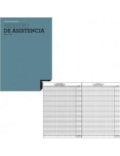 REGISTRO DE ASISTENCIA PARA EL CONTROL DE AUSENCIA Y RETRASO DE LOS ALUMNOS 18,5 X 28,5 CM