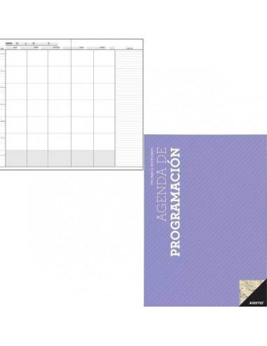 AGENDA DE PROGRAMACION PARA PROFESORES A4