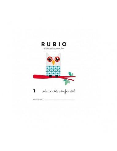 CUADERNO RUBIO DE EDUCACION INFANTIL PARA LOS MAS PEQUEÑOS TAMAÑO A5
