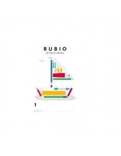 LIBRO PARA COLOREAR RUBIO PARA NIÑOS DE 3 A 8 AÑOS