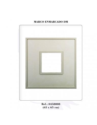 MARCO ENMARCADO DE 65 X 65 CM