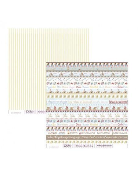 HOJA DE SCRAP SCP-007 DE 30 X 30 CM