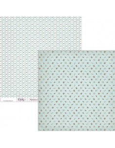 PAPEL PARA SCRAP BOOKING MODELO SCP-029 DE 30 X 30 CM