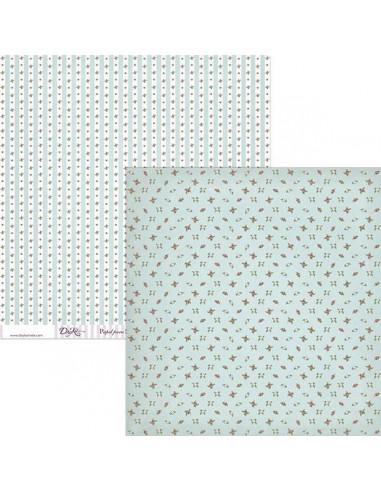 PAPEL PARA SCRAP BOOKING MODELO SCP-029 DE 30 X 30 CM