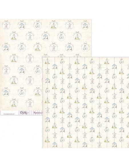 HOJA PARA SCRAPBOOKING MODELO SCP-031 DE 30 X 30 CM