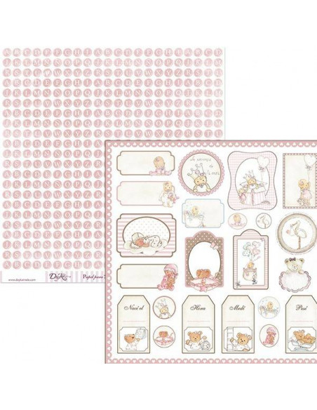 PAPEL PARA SCRAPBOOKING SCP-033 DE 30 X 30 CM