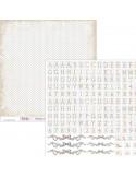 PAPEL PARA SCRAPBOOKING SCP-037 DE 30 X 30 CM
