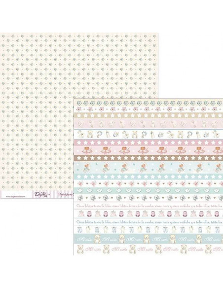 LÁMINA PARA SCRAPBOOKING Y MANUALIDADES SCP-042 DE 30 X 30 CM