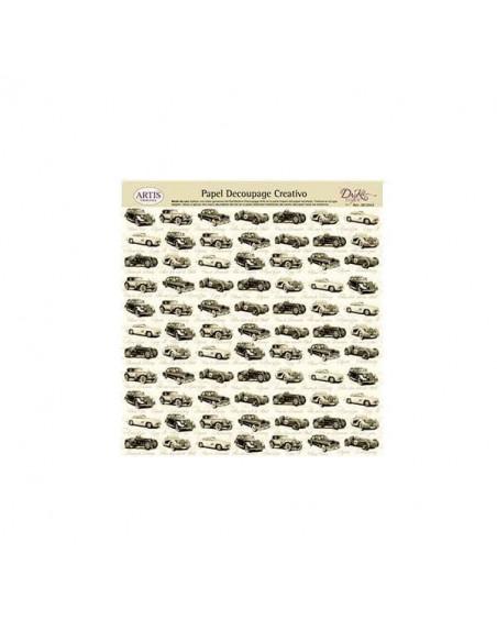 HOJA DECOUPAGE Y MANUALIDADES MODELO 0813343 DE 32 X 31 CM
