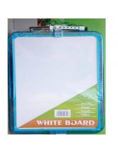 Pizarras blanca economica 21x29 con rotuladores y iman trasero