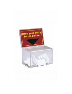Caja para monedas y sugerencias