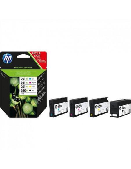 CARTUCHO HP 940 XL PACK DE CUATRO COLORES