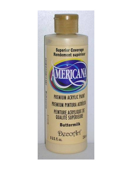 PINTURA AMERICANA 236ML COLOR MANTEQUILLA DA03