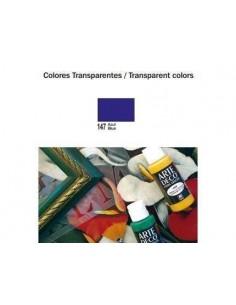 PINTURA ACRILICA COLORES TRANSPARENTES ARTE DECO 60 ML
