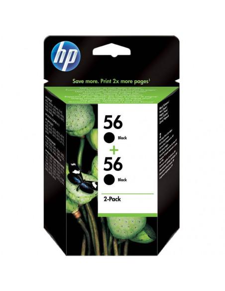 CARTUCHO HP 56 NEGRO PACK 2 UND C9502AE