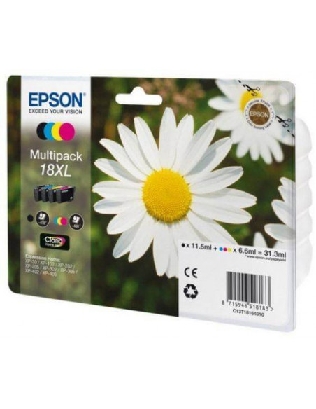 CARTUCHO EPSON 18 XL MULTIPACK