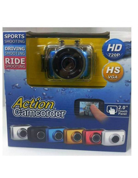 Videocámara impermeable Action Sports 2.0 HD 720P