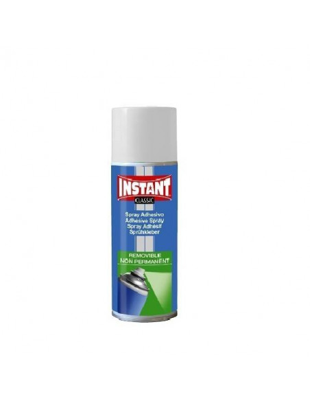 ADHESIVO EN SPRAY EN BOTES DE 400ML INSTANT