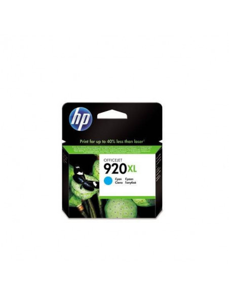 CARTUCHO HP 920 XL CYAN CD972AE