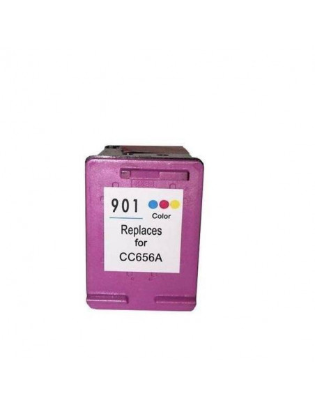 HP 901 XL COLOR REMANUFACTURADO CARTUCHO