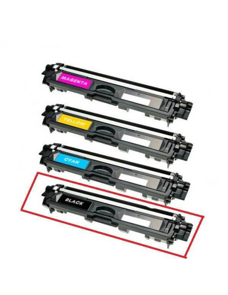 BROTHER TN241/TN245 NEGRO COMPATIBLE TONER