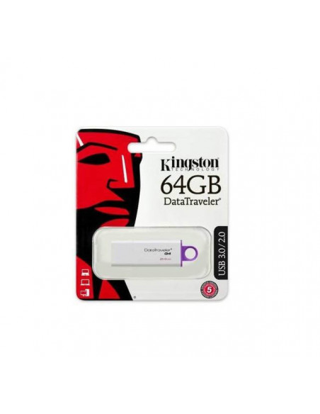 PENDRIVE 64 GB KINGSTON USB 2.0