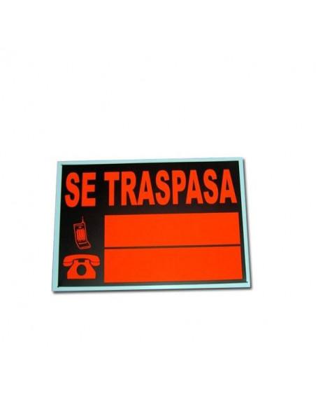 CARTEL DE SE TRASPASA 35X50