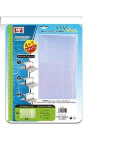 FORRO AJUSTABLE PARA LIBROS  EXPRESS 29CM PACK 5 UND MP