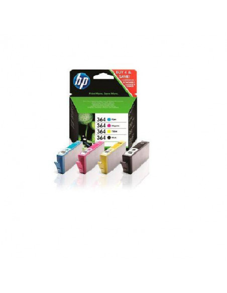 PACK HP 364 DE 4 COLORES N9J73A