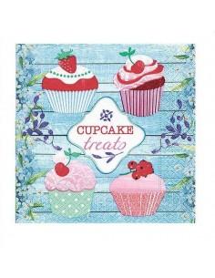 Servilleta cupcakes