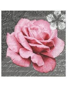 Servilleta rosa del amor