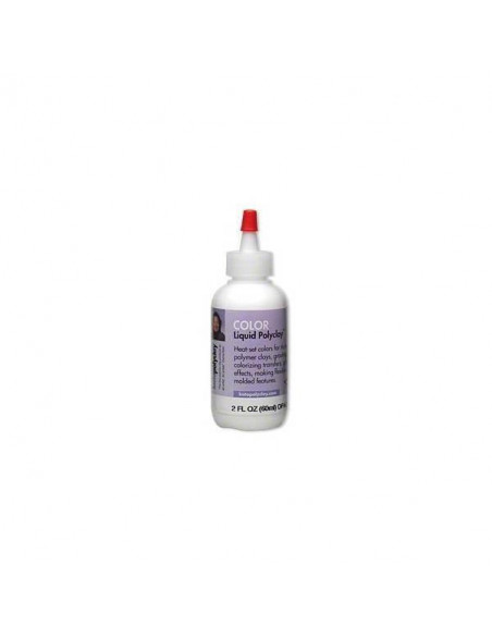 KATO LIQUIDO POLYCLAY 60ML COLORES SURTIDOS BLANCO
