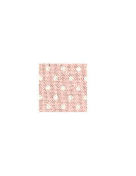TEXTIL ESTAMPADO DE ALGODÓN LAMINA ADHESIVA A4 210 X 297 MM DOT PINK GROUND