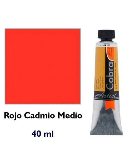 COBRA ART 40ML ROJO CAD.MED.