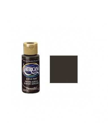 PINTURA AMERICANA 60 ML CHOCOLATE AMARGO