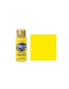 PINTURA AMERICANA 60 ML AMARILLO BRILLANTE