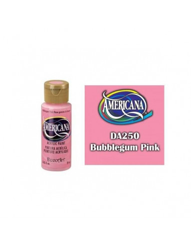 PINTURA AMERICANA 60 ML CHICLE ROSA