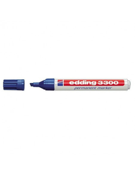 ROTULADOR CON TRAZO DE 1-5 MM EDDING 3300 COLOR AZUL