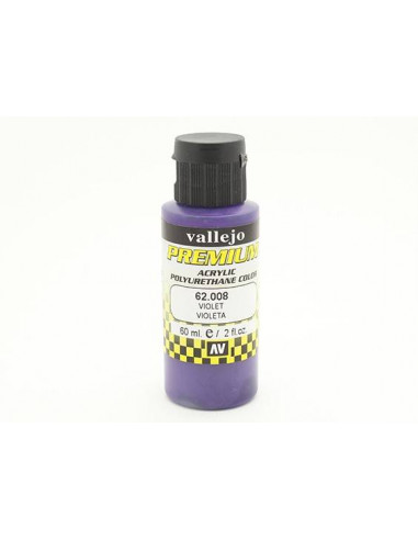 PREMIUM COLOR 60 ML PARA AERÓGRAFO VIOLETA