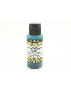 PINTURA PARA AERÓGRAFO DE 60 ML PREMIUM AIRBRUSH DE VALLEJO COLOR VERDE RACING CANDY